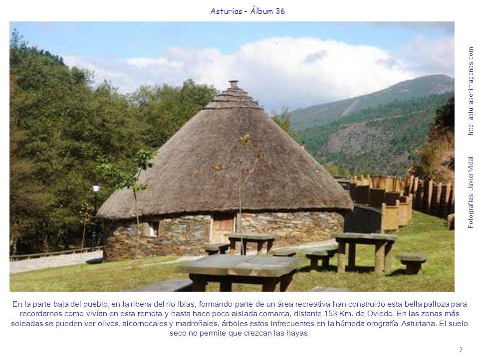3 Asturias - Álbum 36 Fotografías: Javier Vidal http: asturiasenimagenes.com En la parte baja del pueblo, en la ribera del río Ibias, formando parte d