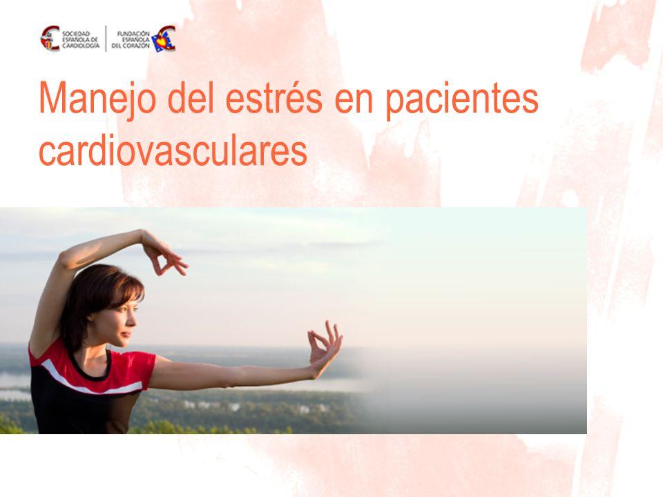 Manejo del estrés en pacientes cardiovasculares