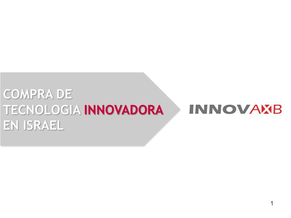 1 COMPRA DE TECNOLOGIA INNOVADORA EN ISRAEL
