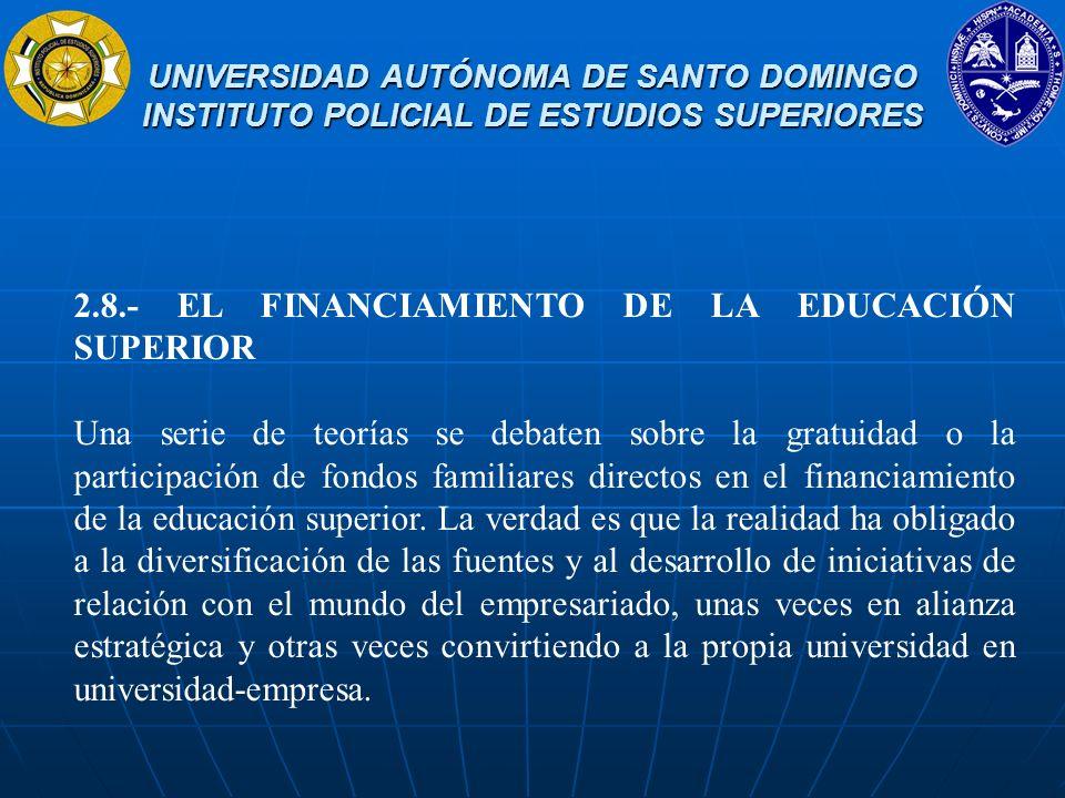 UNIVERSIDAD AUTÓNOMA DE SANTO DOMINGO INSTITUTO POLICIAL DE ESTUDIOS SUPERIORES UNIVERSIDAD AUTÓNOMA DE SANTO DOMINGO INSTITUTO POLICIAL DE ESTUDIOS S