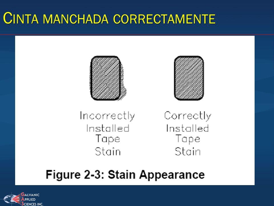 C INTA MANCHADA CORRECTAMENTE