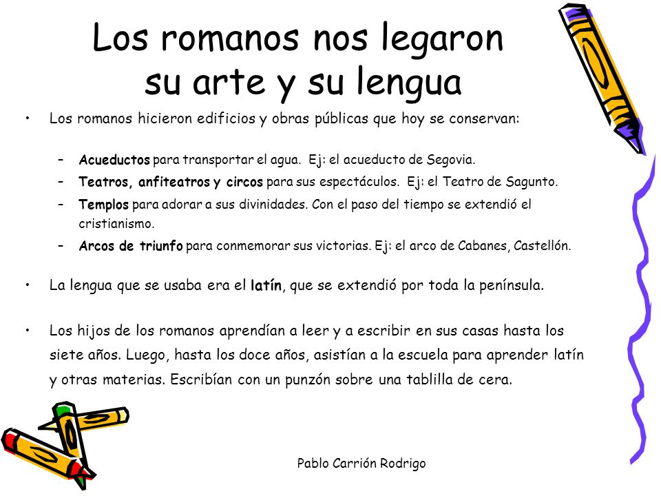 Pablo Carrión Rodrigo TERMAS ROMANAS