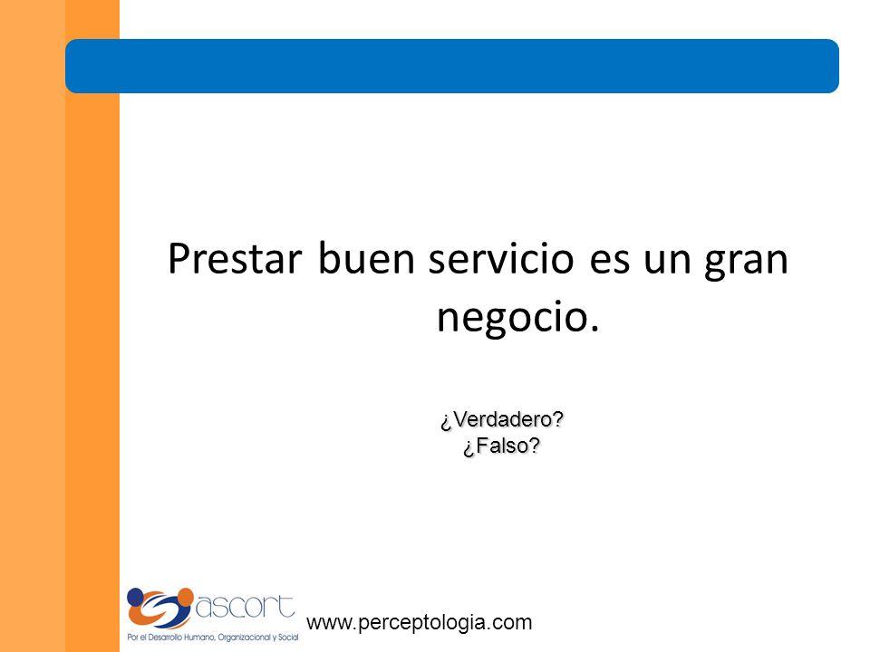 www.perceptologia.com RentabilidadRentabilidad FidelidadFidelidad Satisfacción basada en confianza Satisfacción
