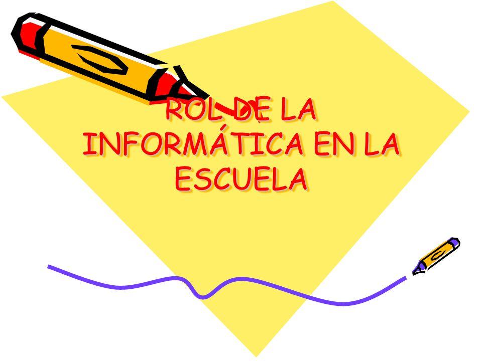La Educación en tecnología en general y la informática en particular, debe de promover calidad de vida, relaciones equitativas y fraternas entre los seres humanos, respeto y la valorización de las identidades culturales nativas, la construcción de una sociedad participativa, democrática y dispuesta a un cambio basado en la tecnología.