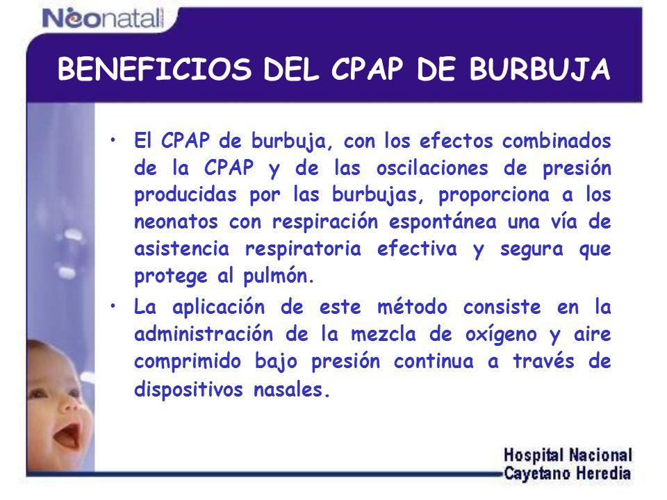 Aumentando la capacidad residual pulmonar (CRP).