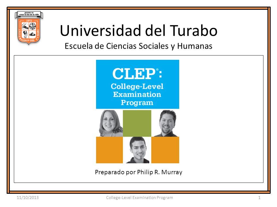 Universidad del Turabo Escuela de Ciencias Sociales y Humanas Preparado por Philip R.