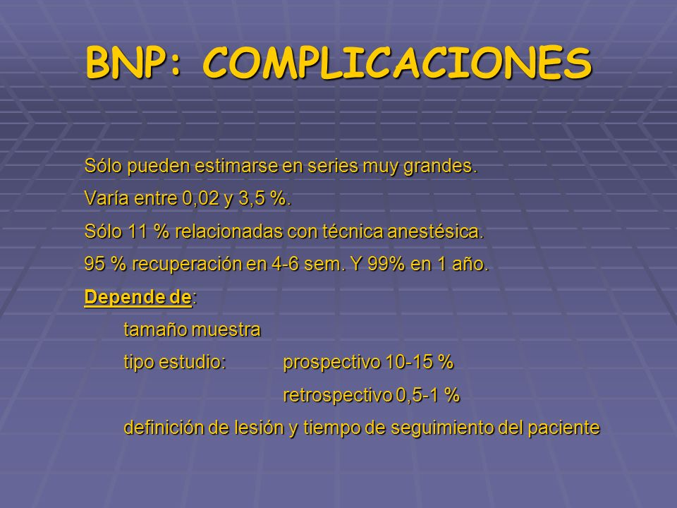 BNP: INCIDENCIA Brull R.