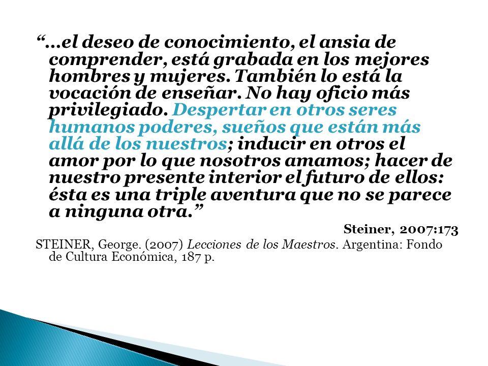 IMPORTANCIA DE LA PROFESIÓN DOCENTE PARA LA SOCIEDAD RESPONSABILIDAD DE LOS GOBIERNOS Y LAS INSTITUCIONES BÚSQUEDA DE OPCIONES PARA FORTALECER EL DESARROLLO PROFESIONAL DOCENTE