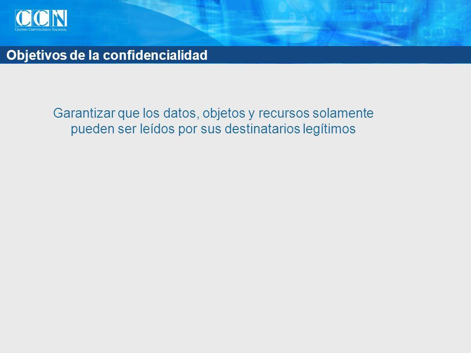 Práctica: Cifrado del canal con SSL en SQL Server 2005 Obtener un certificado digital de servidor Instalarlo en el servidor a través de una consola MMC Instalarlo en los clientes que vayan a conectarse al servidor Configuración del acceso con SSL Exigir SSL en el servidor: Se cifran todas las comunicaciones, vengan de donde vengan Exigir SSL en los clientes: Se cifran las comunicaciones procedentes de ese cliente Exigir SSL en las aplicaciones: Se cifran las comunicaciones procedentes de esa aplicación