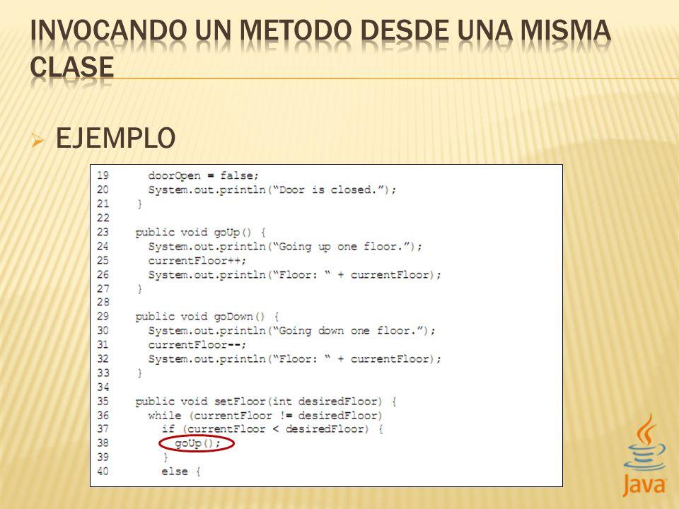 Los métodos hacen que los programas sean mas legibles y fáciles de mantener.