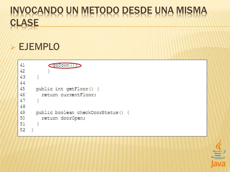 Declarando métodos STATIC static Properties getProperties() Invocando métodos STATIC Classname.method();