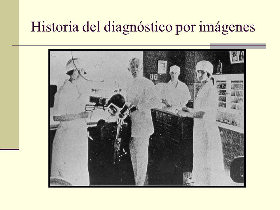 Historia del diagnóstico por imágenes Dr. Edmund Kells