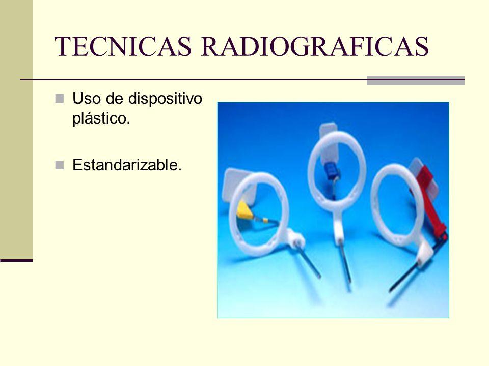 TECNICAS RADIOGRAFICAS 2. Técnica de Paralelismo. Sinónimos: T. de extensión de cono paralelo, T. de ángulo recto, T. de cono largo.