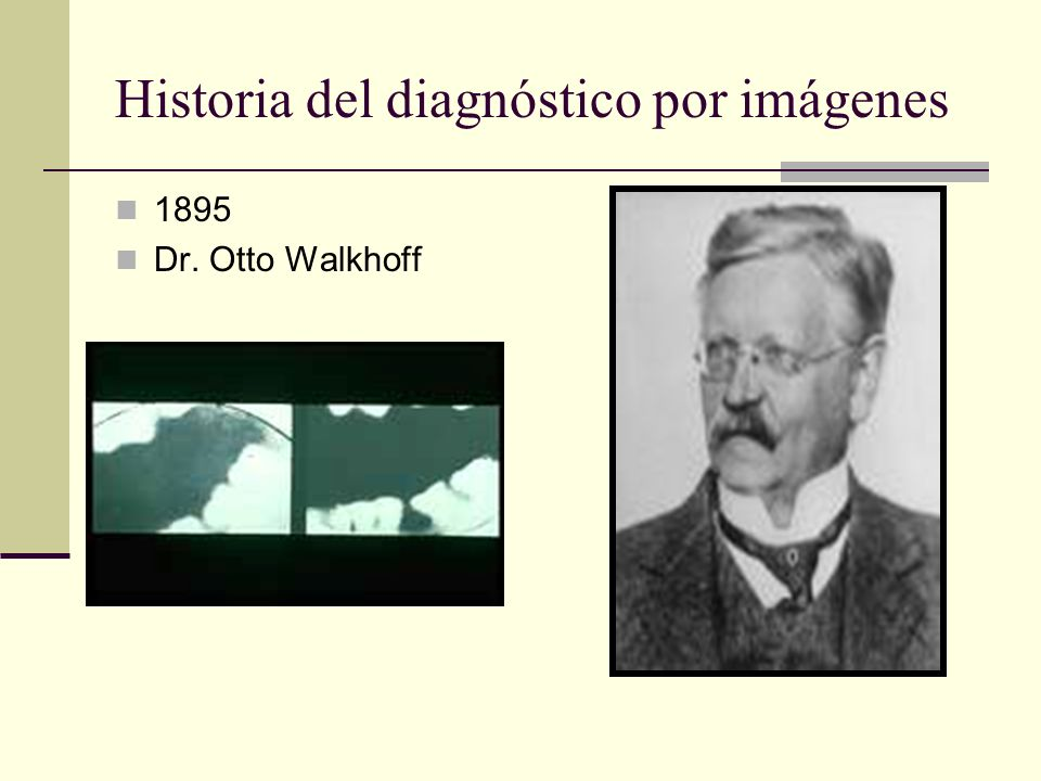 1895 Dr. Otto Walkhoff