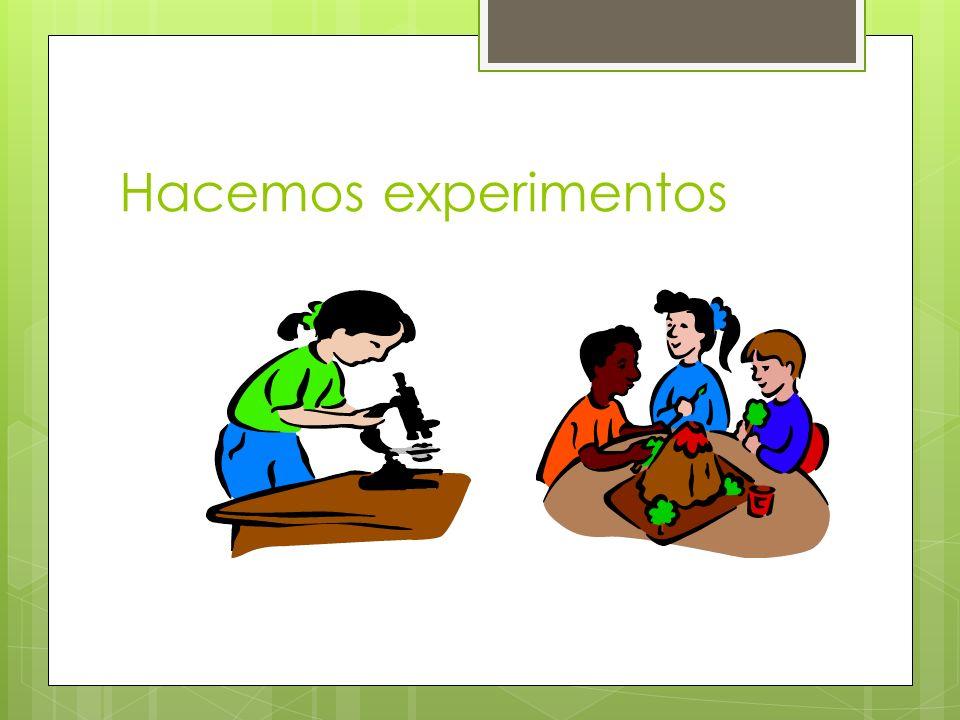 Hacemos experimentos