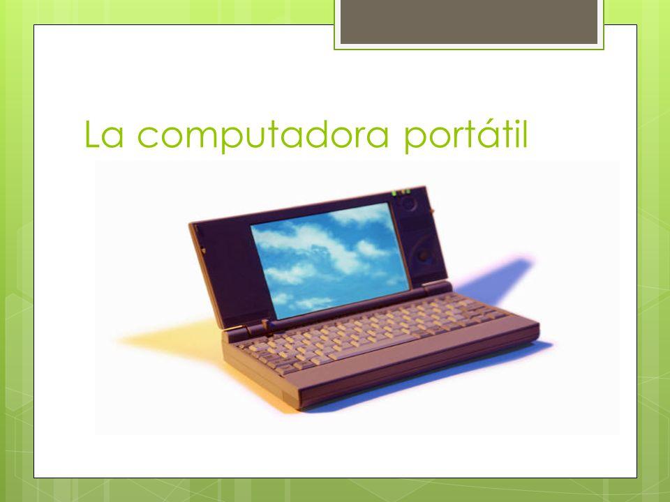 La computadora portátil