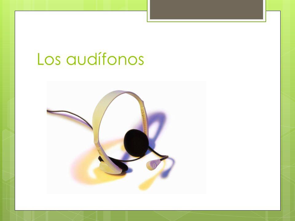 Los audífonos