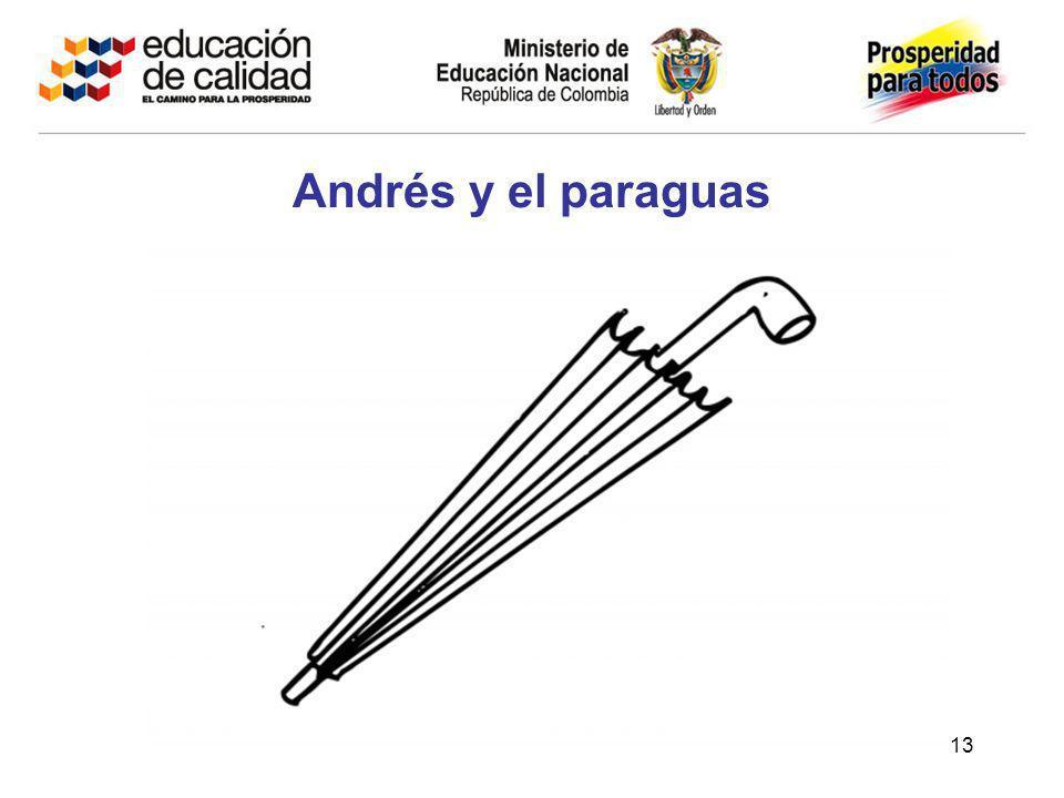 13 Andrés y el paraguas