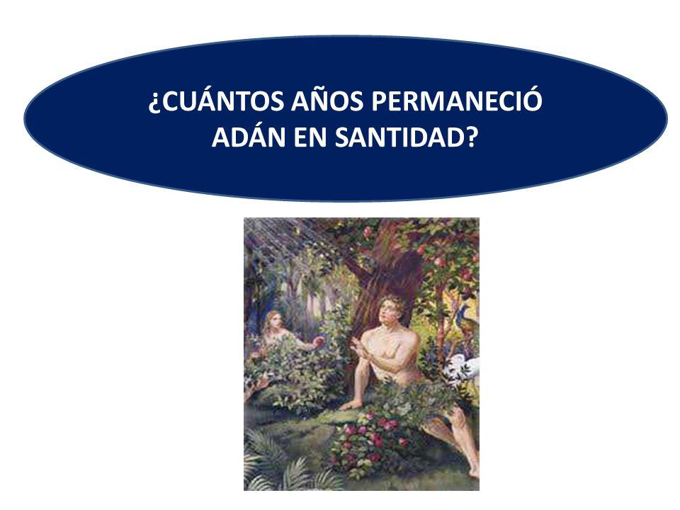 Note que entre el periodo de la creación de Adán, y el nacimiento de Cristo, según el C.B.A.