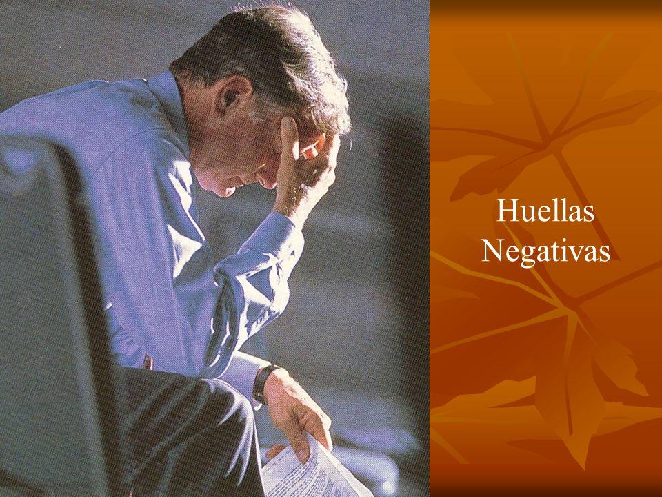 Huellas Negativas