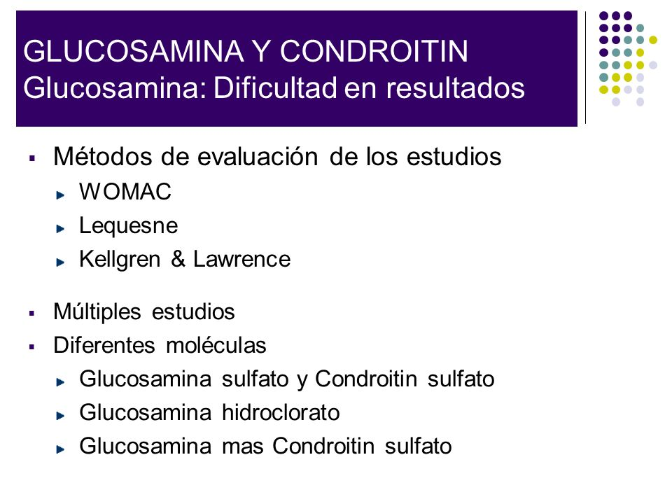 Glucosamine Sulfate in the Treatment of Knee Osteoarthritis Symptoms: GUIDE Herrero-Beaumont.