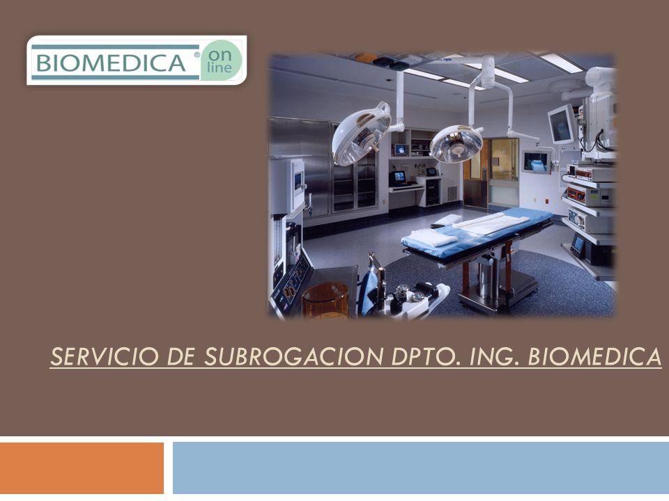 Por el avance tecnológico que se ha venido desarrollando en los últimos años, se ha encontrado con la necesidad de contar con especialistas en la Gestión de Equipos Electromédicos dentro de las Instituciones Hospitalarias.