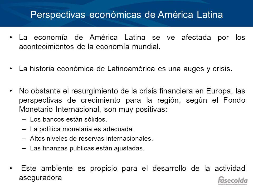 Perspectivas económicas de América Latina La economía de América Latina se ve afectada por los acontecimientos de la economía mundial. La historia eco