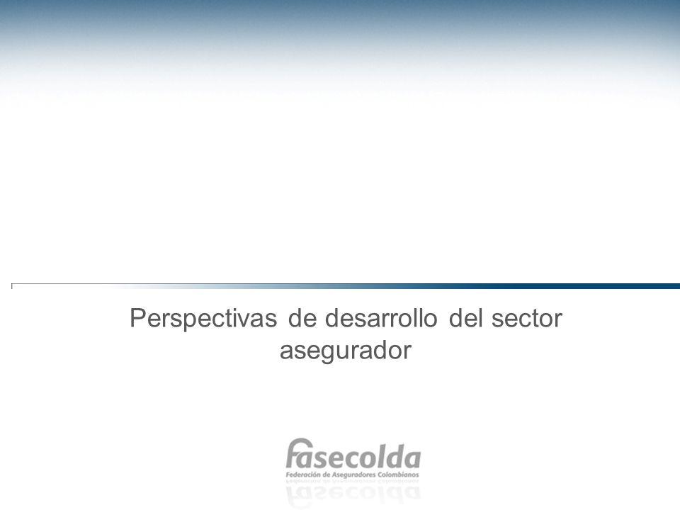 Perspectivas de desarrollo del sector asegurador