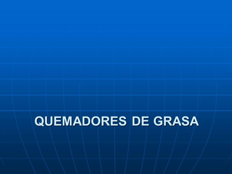 QUEMADORES DE GRASA