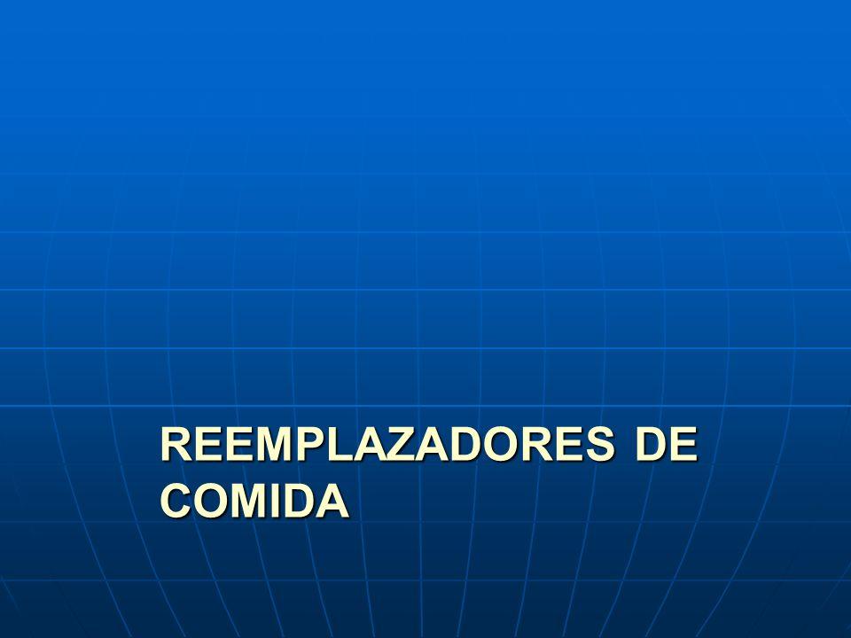 REEMPLAZADORES DE COMIDA