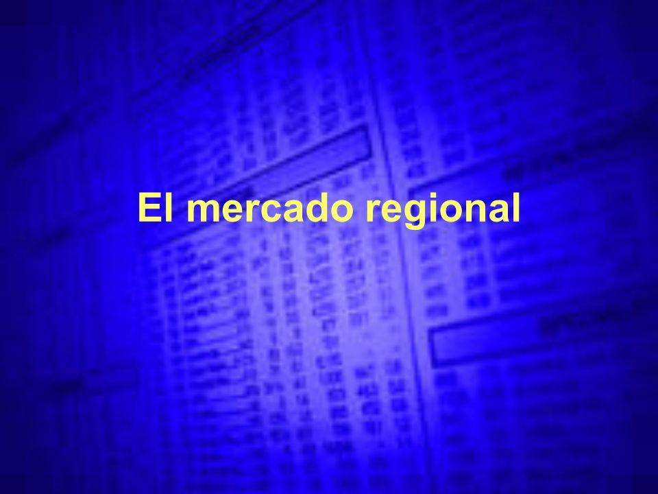 El mercado regional