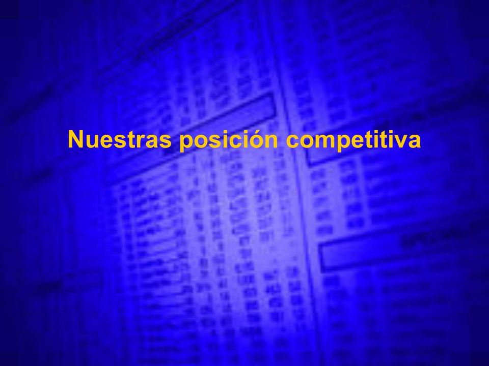 Nuestras posición competitiva