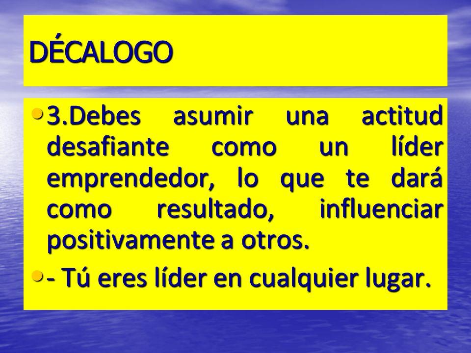 DECÁLOGO 4.