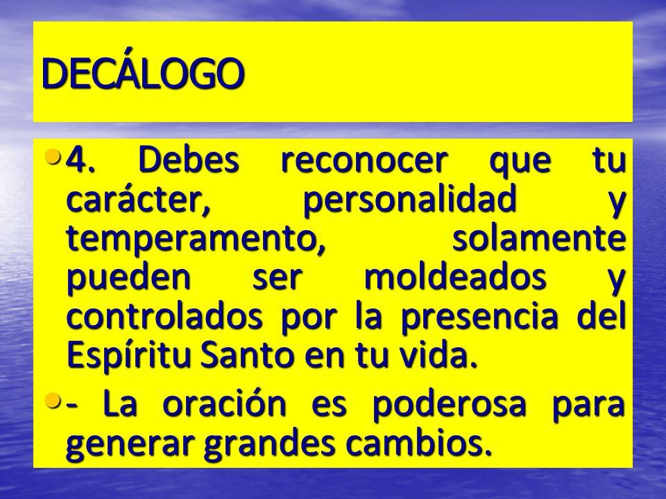 DECÁLOGO 5.