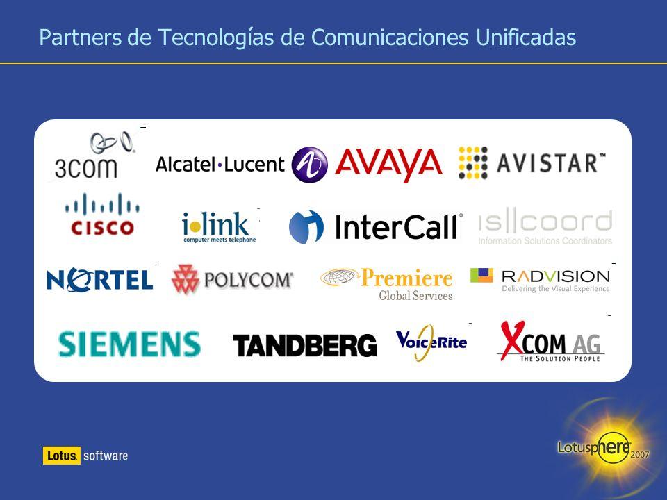 28 Partners de Tecnologías de Comunicaciones Unificadas
