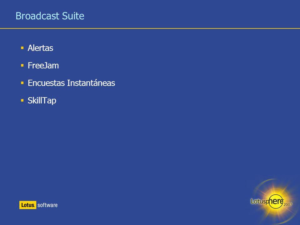 33 Broadcast Suite Alertas FreeJam Encuestas Instantáneas SkillTap