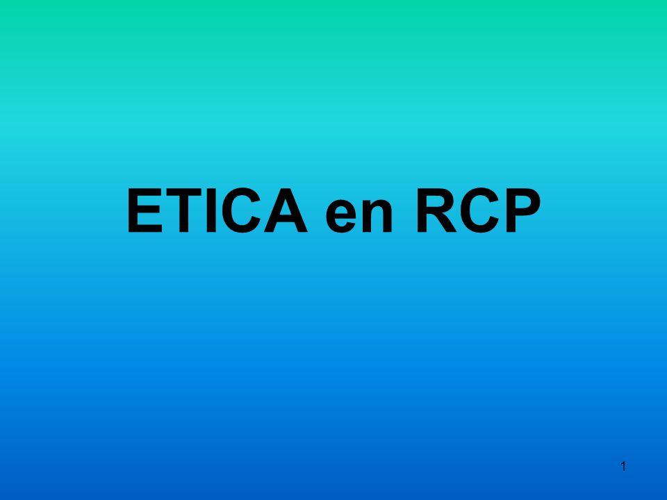 1 ETICA en RCP