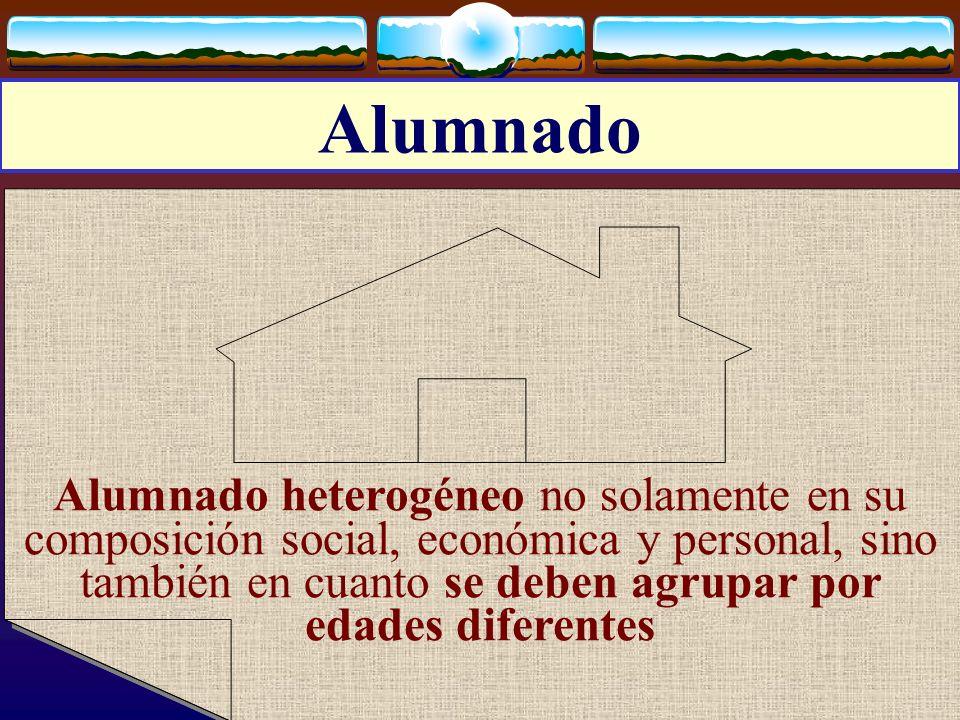 José Luis Bernal Agudo Universidad de Zaragoza 11 Alumnado Alumnado heterogéneo no solamente en su composición social, económica y personal, sino tamb