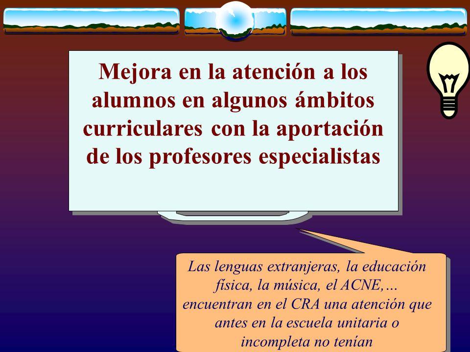José Luis Bernal Agudo Universidad de Zaragoza 26 Mejora en la atención a los alumnos en algunos ámbitos curriculares con la aportación de los profeso