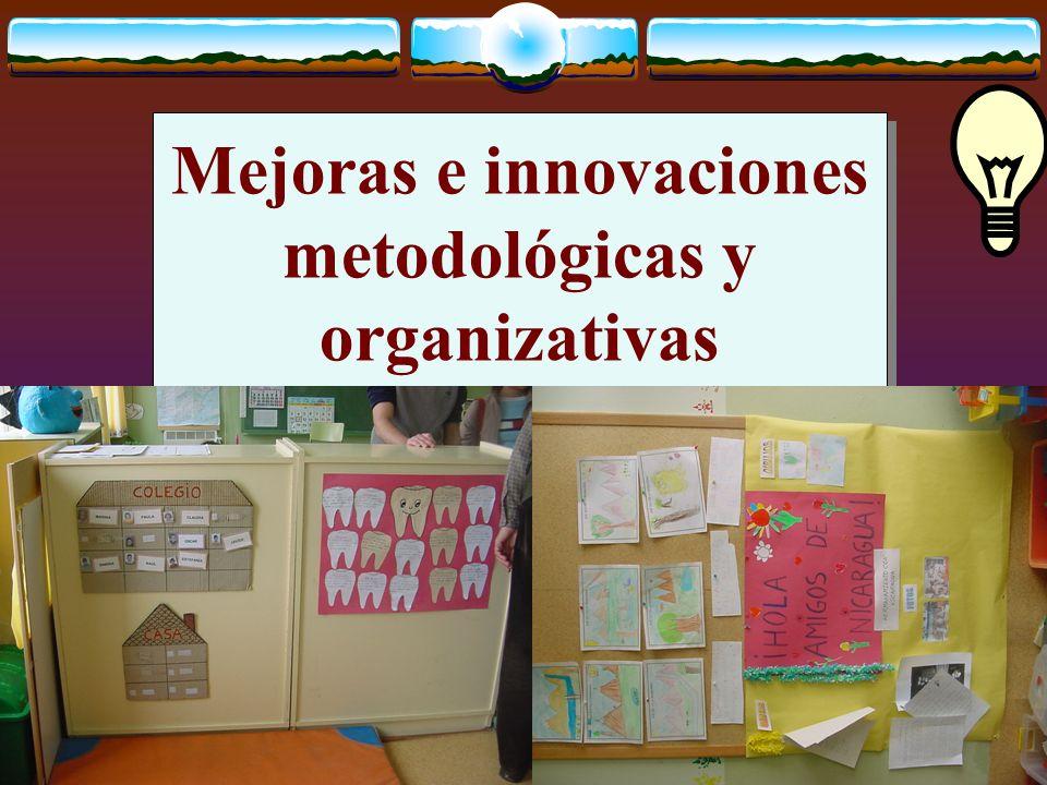 José Luis Bernal Agudo Universidad de Zaragoza 28 Mejoras e innovaciones metodológicas y organizativas