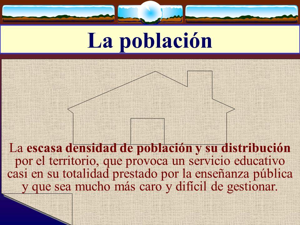 José Luis Bernal Agudo Universidad de Zaragoza 9 La población La escasa densidad de población y su distribución por el territorio, que provoca un serv