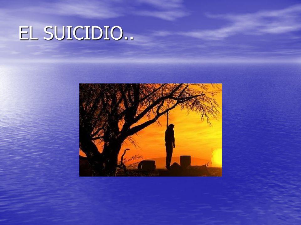 EL SUICIDIO..