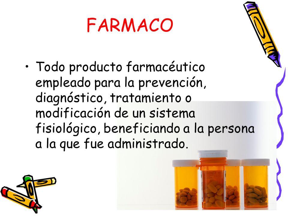 Etapas de los fármacos: CONCENTRACION Y ABSORCION: debe estar presente en concentraciones apropiadas en su sitio de acción.