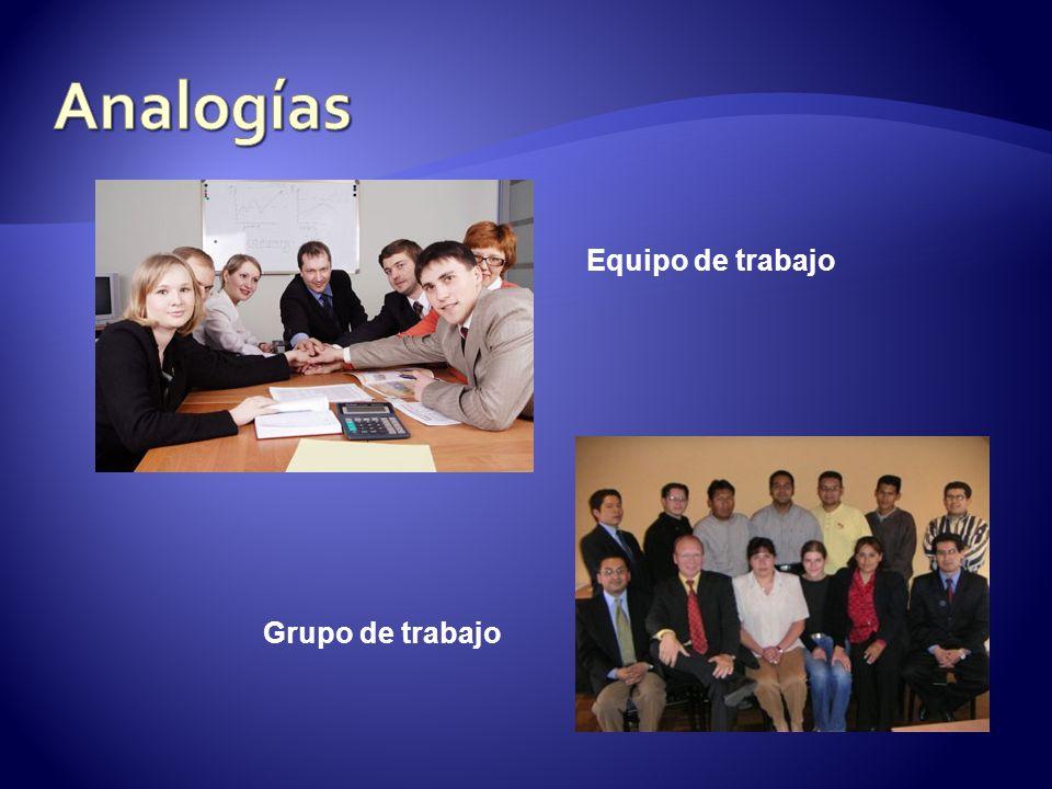 Equipo de trabajo Grupo de trabajo