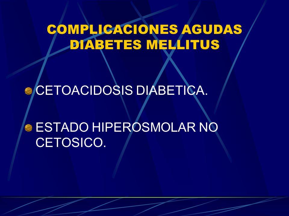 CETOACIDOSIS DIABETICA.TRATAMIENTO INSULINA:(IAR) Bolo.2 U/KG IV INICIAL.