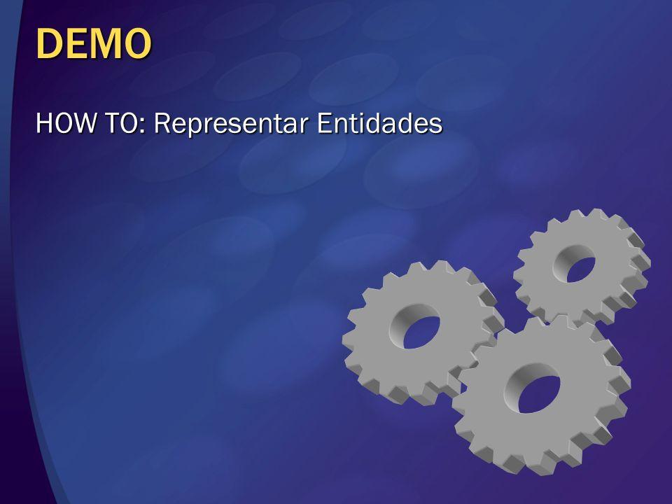DEMO HOW TO: Representar Entidades