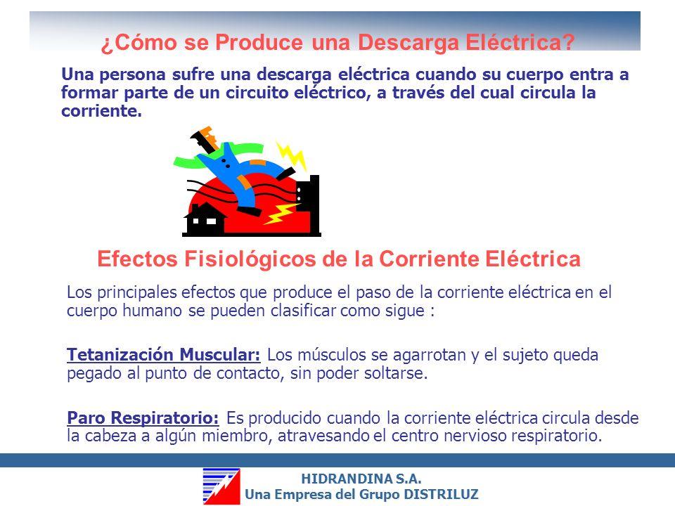 HIDRANDINA S.A.Una Empresa del Grupo DISTRILUZ HIDRANDINA S.A.