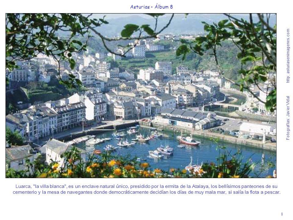 9 Asturias - Álbum 8 Fotografías: Javier Vidal http: asturiasenimagenes.com Playa de Penarronda (Castropol) - Bandera Azul 2007.