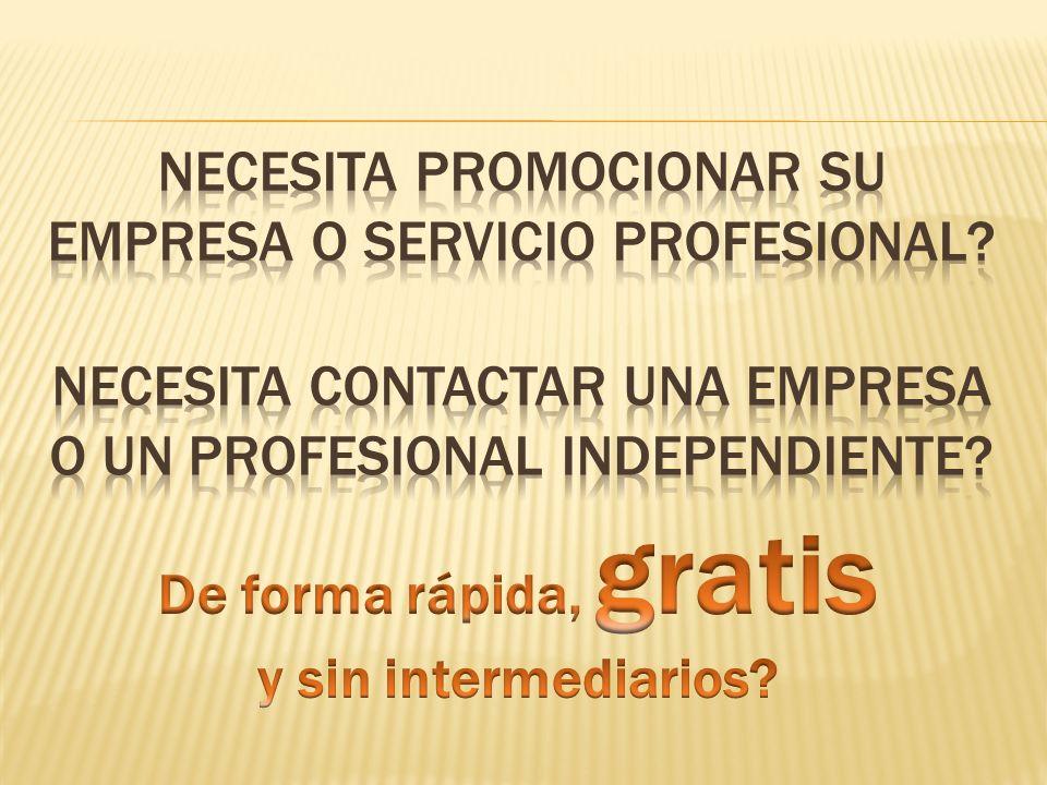 Descripción del Sistema de Anuncios ProfesionalesEnDirecto.com cuenta con un sistema de publicidad 365/7/24 al activarse como anunciante en cualquiera de los niveles disponibles.