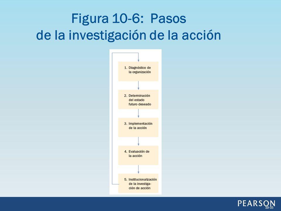 Figura 10-6: Pasos de la investigación de la acción 10-35
